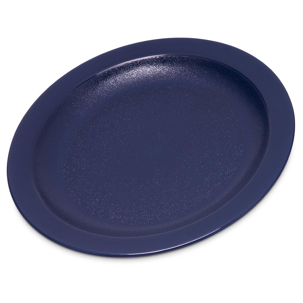 "Carlisle PCD20650 6.5"" Round Plate - Polycarbonate, Dark Blue"