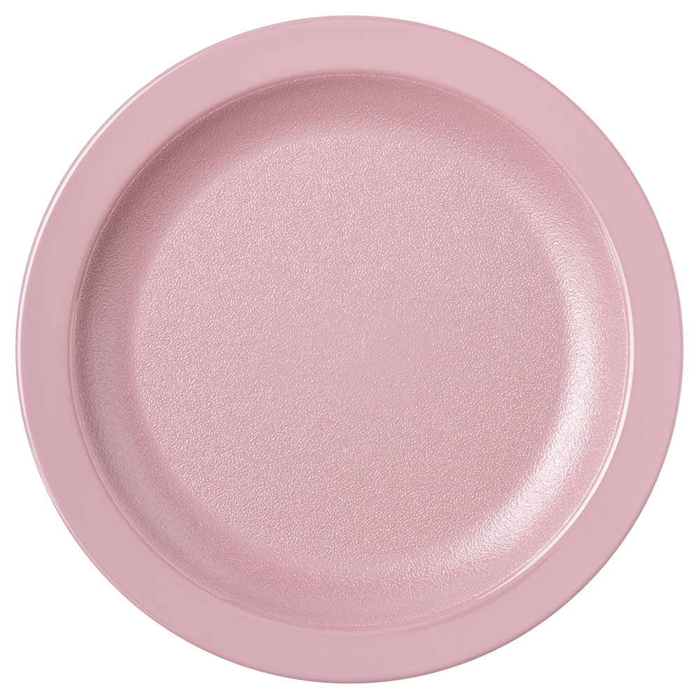 "Carlisle PCD20656 6.5"" Round Plate - Polycarbonate, Mauve"