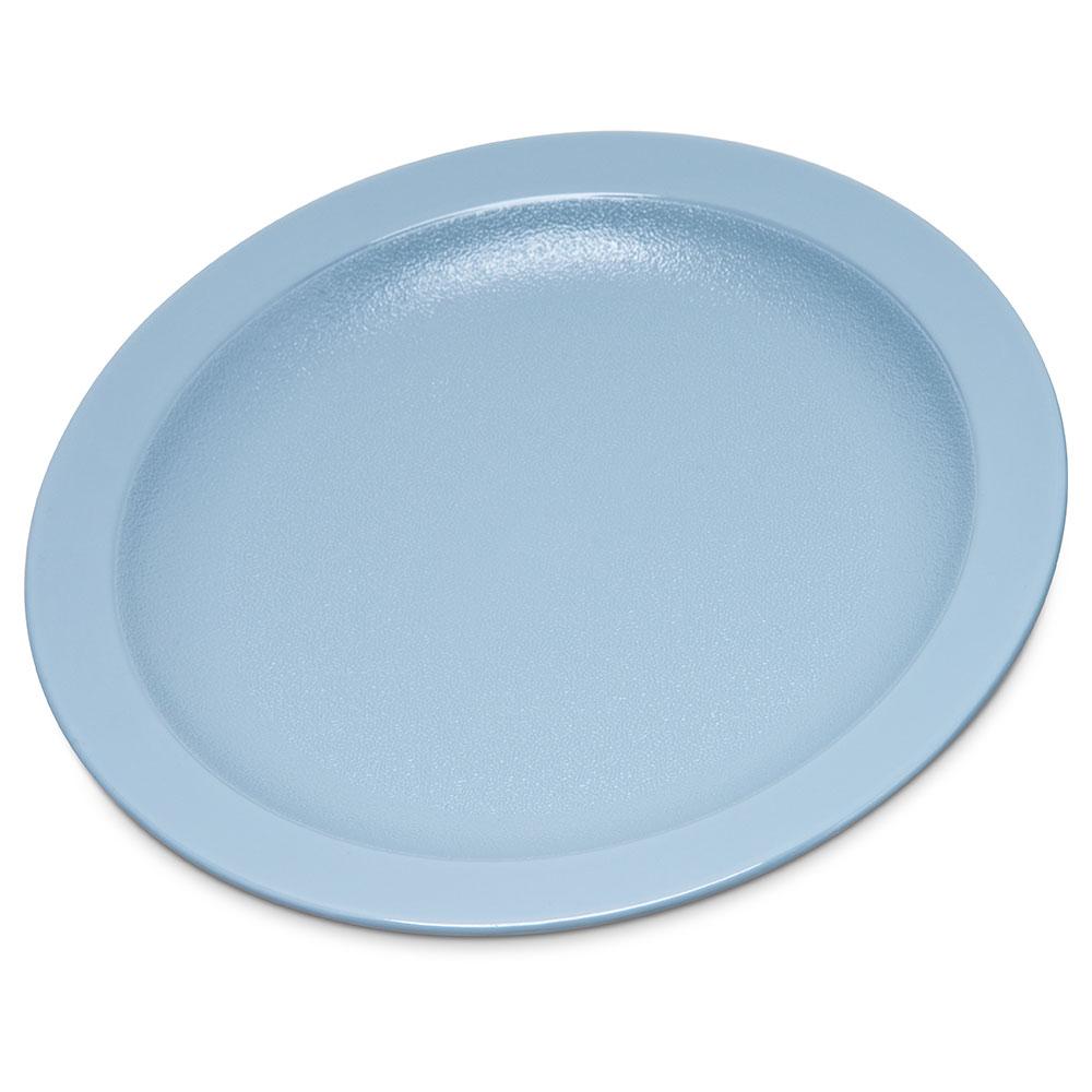 "Carlisle PCD20659 6-1/2"" Plate - Polycarbonate, Slate Blue"