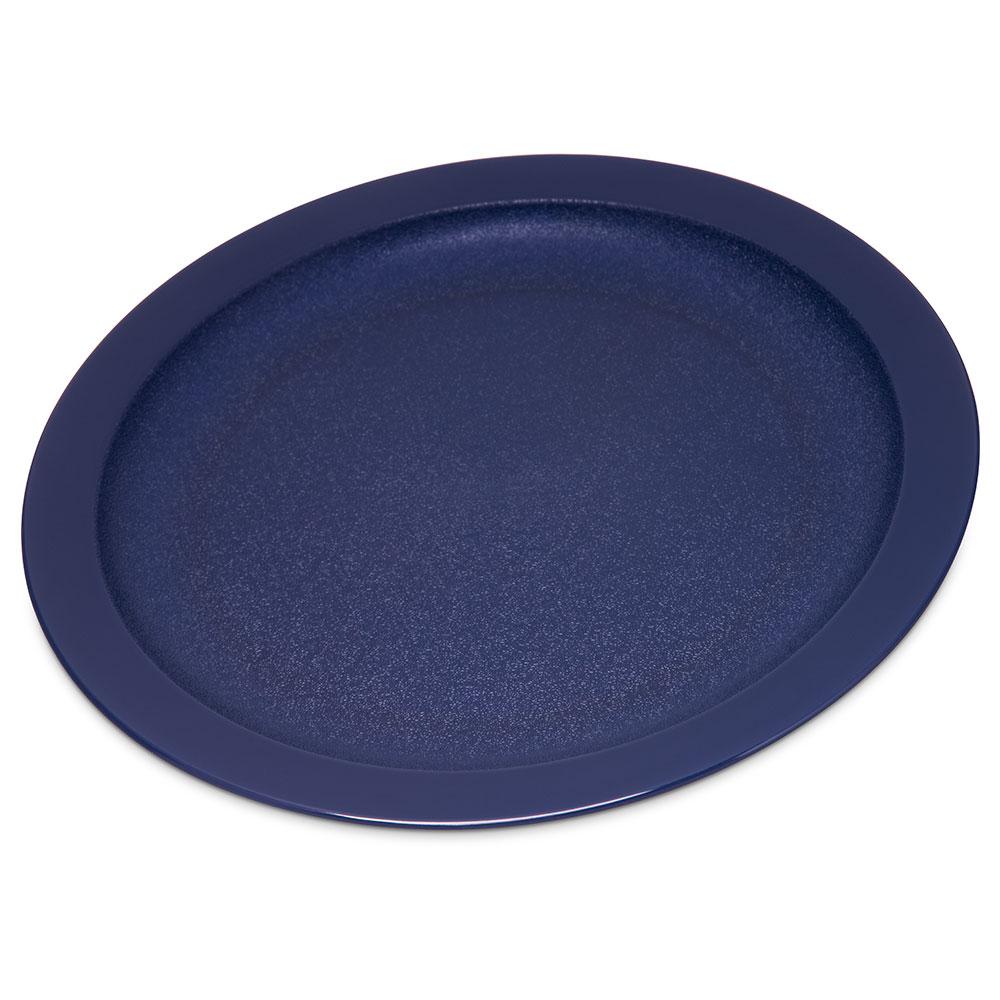 "Carlisle PCD20950 9"" Round Plate - Polycarbonate, Dark Blue"