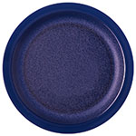 "Carlisle PCD21050 10"" Round Plate - Polycarbonate, Dark Blue"
