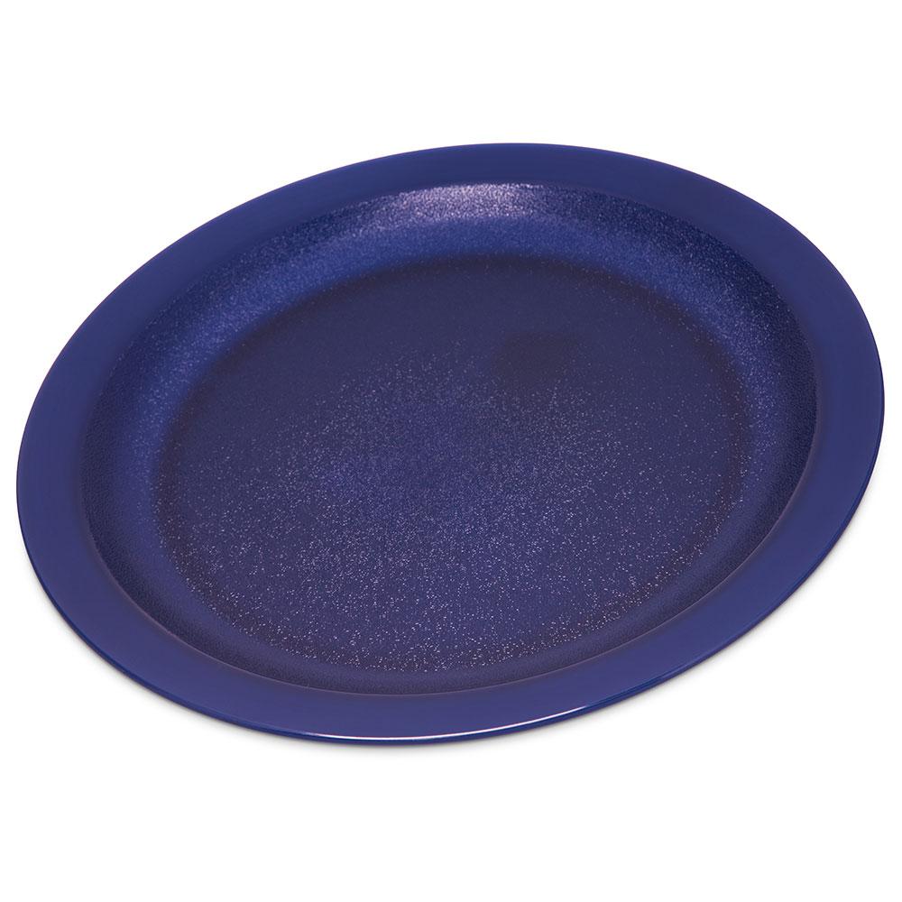 carlisle pcd21050 10 round plate polycarbonate dark blue. Black Bedroom Furniture Sets. Home Design Ideas