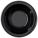 "Carlisle PCD30503 3.5"" Round Fruit Bowl w/ 5-oz Capacity, Polycarbonate, Black"