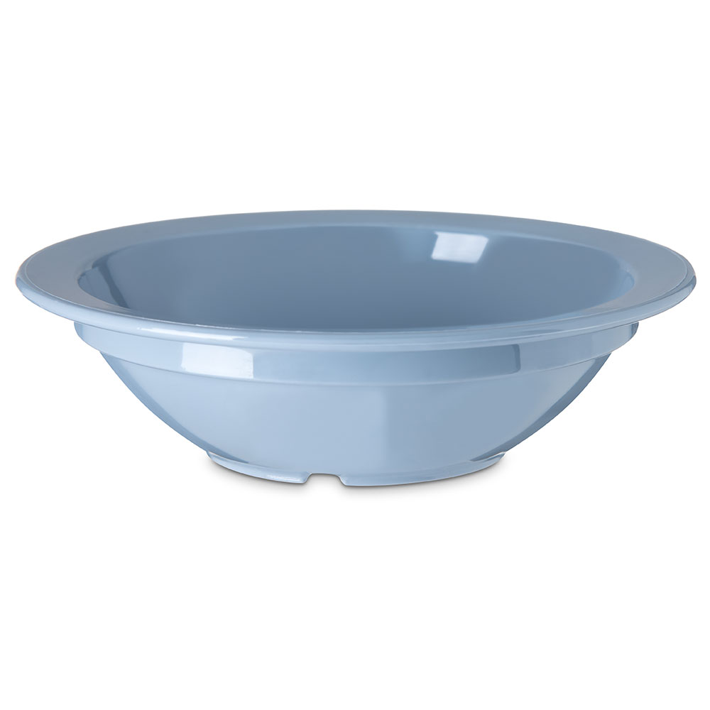 "Carlisle PCD30559 3.5"" Round Fruit Bowl w/ 5-oz Capacity, Polycarbonate, Slate Blue"