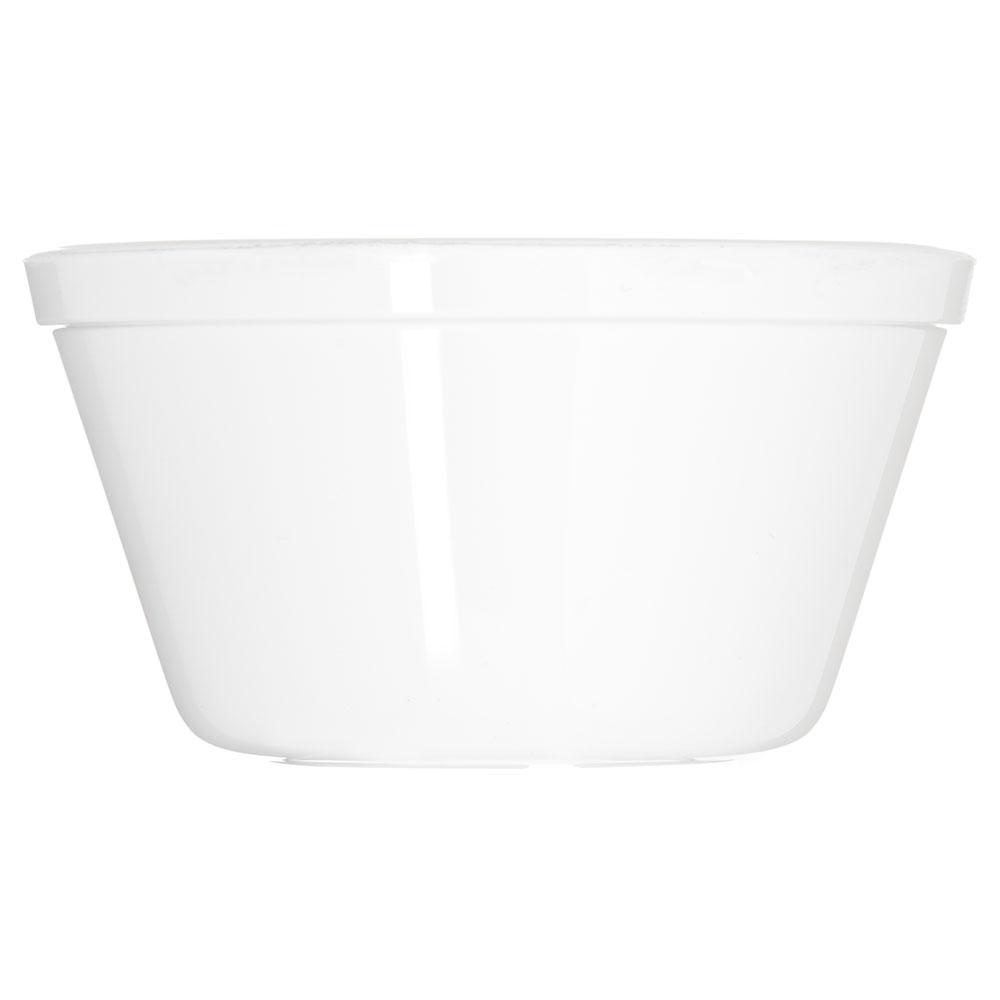 "Carlisle PCD30802 4"" Round Bouillon Cup w/ 8.4-oz Capacity, Polycarbonate, White"