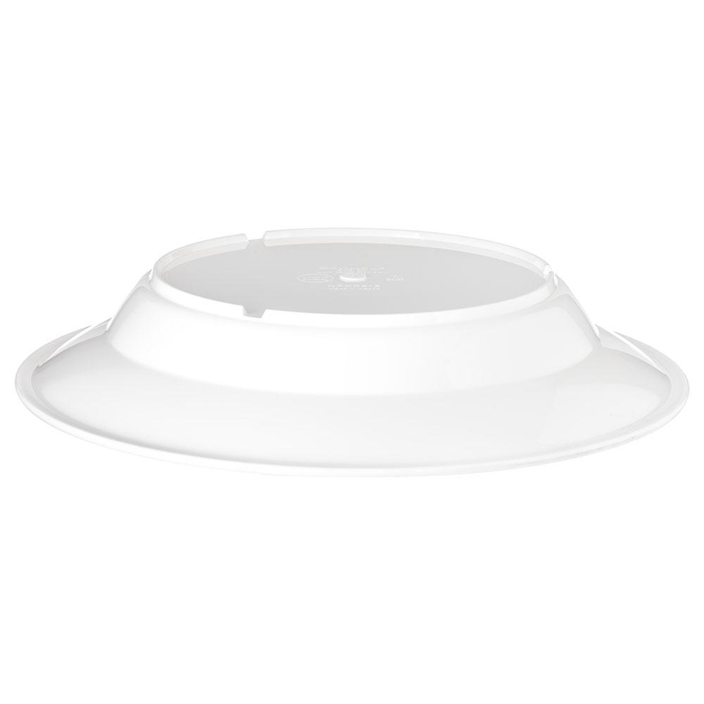 "Carlisle PCD31202 9"" Round Soup Bowl w/ 12-oz Capacity, Polycarbonate, White"