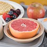 "Carlisle PCD31325 6"" Round Grapefruit Bowl w/ 10-oz Capacity, Polycarbonate, Tan"