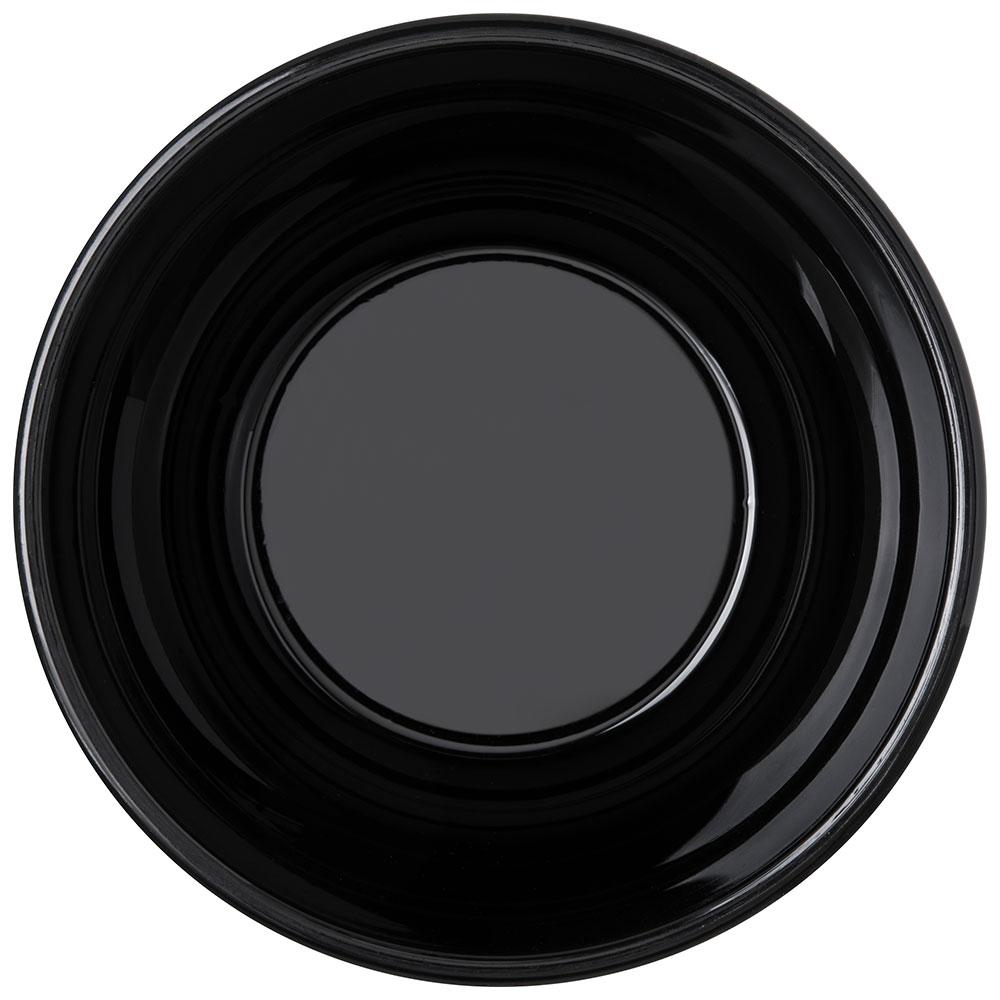 "Carlisle PCD31903 5.25"" Round Nappie Bowl w/ 15-oz Capacity, Polycarbonate, Black"