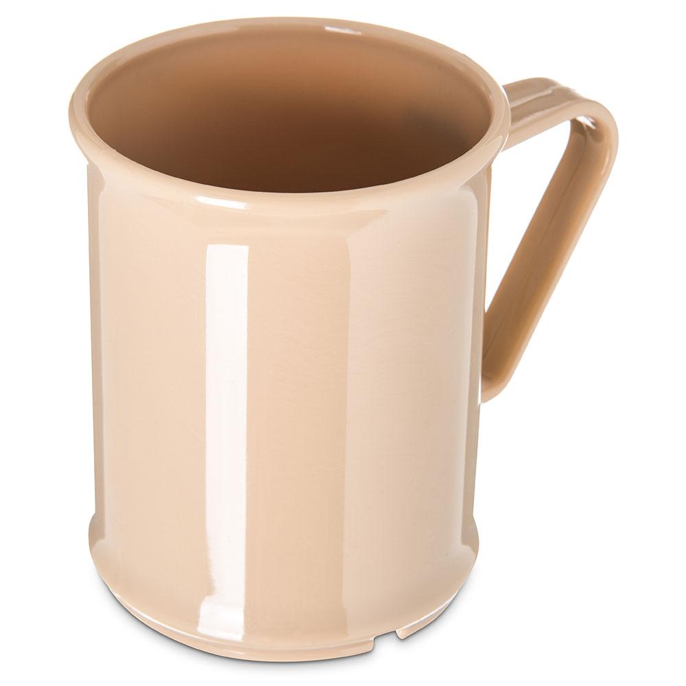 Carlisle PCD79625 9.6-oz Mug - Polycarbonate, Tan