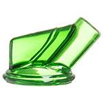 Carlisle PS10309 Vented Store-N-Pour Spout - Polyethylene, Green