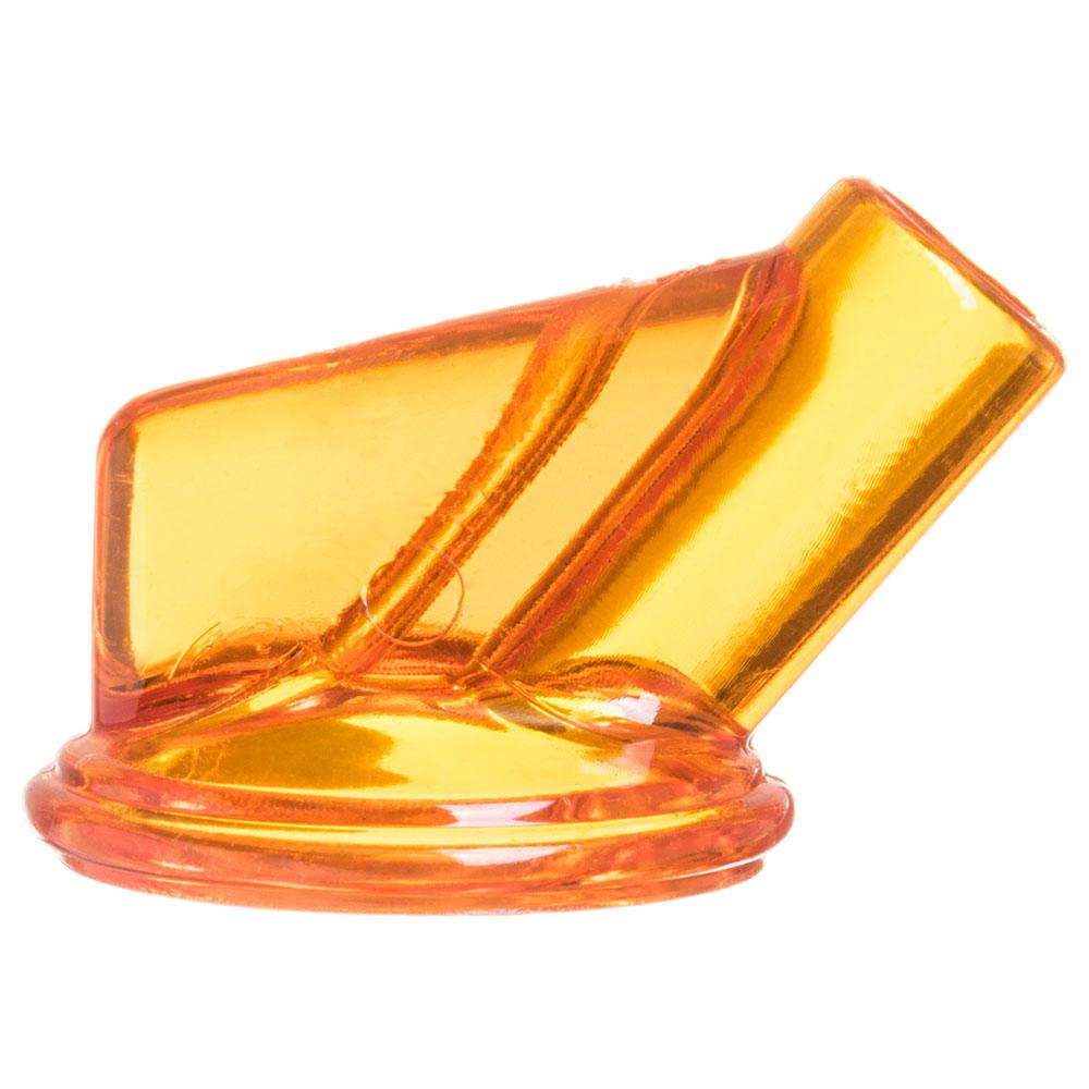 Carlisle PS10324 Vented Store-N-Pour Spout - Polyethylene, Orange
