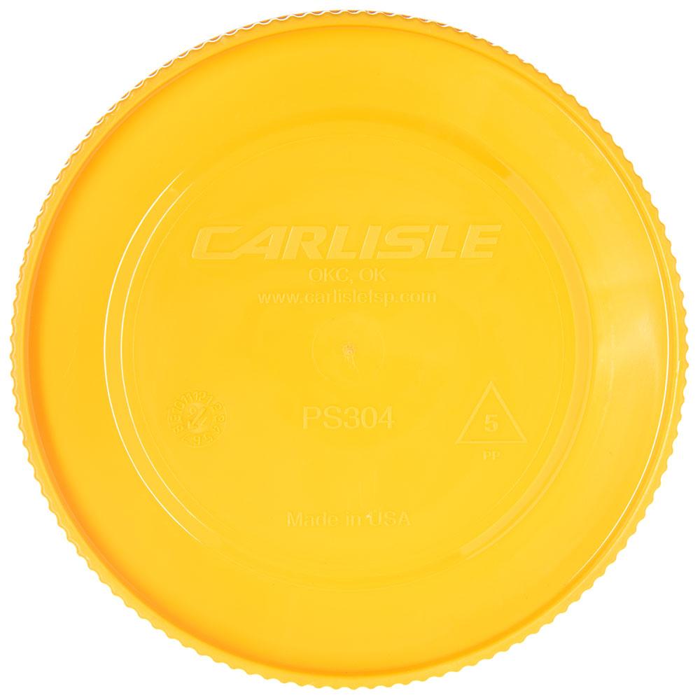 Carlisle PS30404 Store 'N Pour Cap - Polyethylene, Yellow