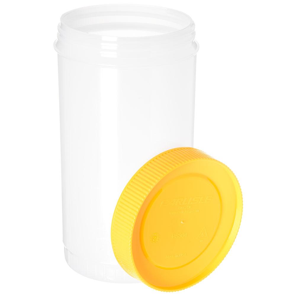 Carlisle PS602N04 32-oz Store 'N Pour Quart Backup - Polyethylene, Yellow