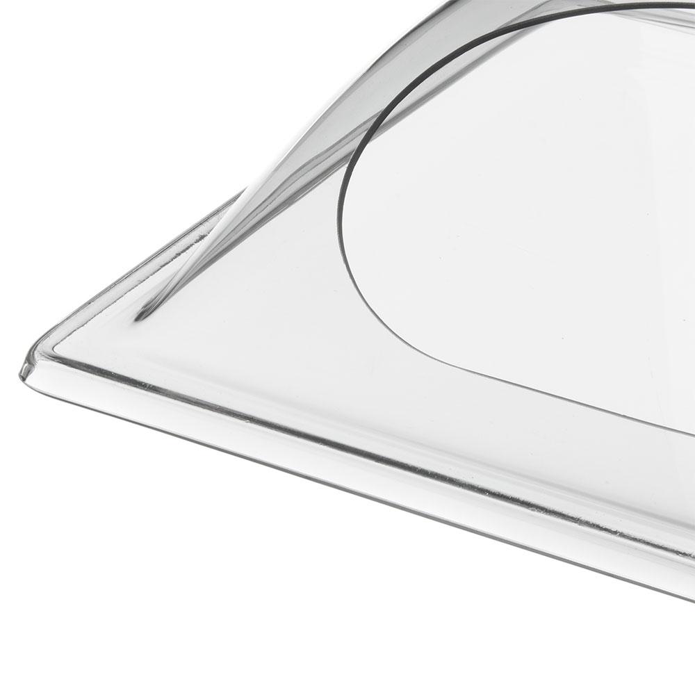 "Carlisle PSD13CH07 Rectangular Food Pan Display cover - 13"" x 10.75"", Polycarbonate, Clear"