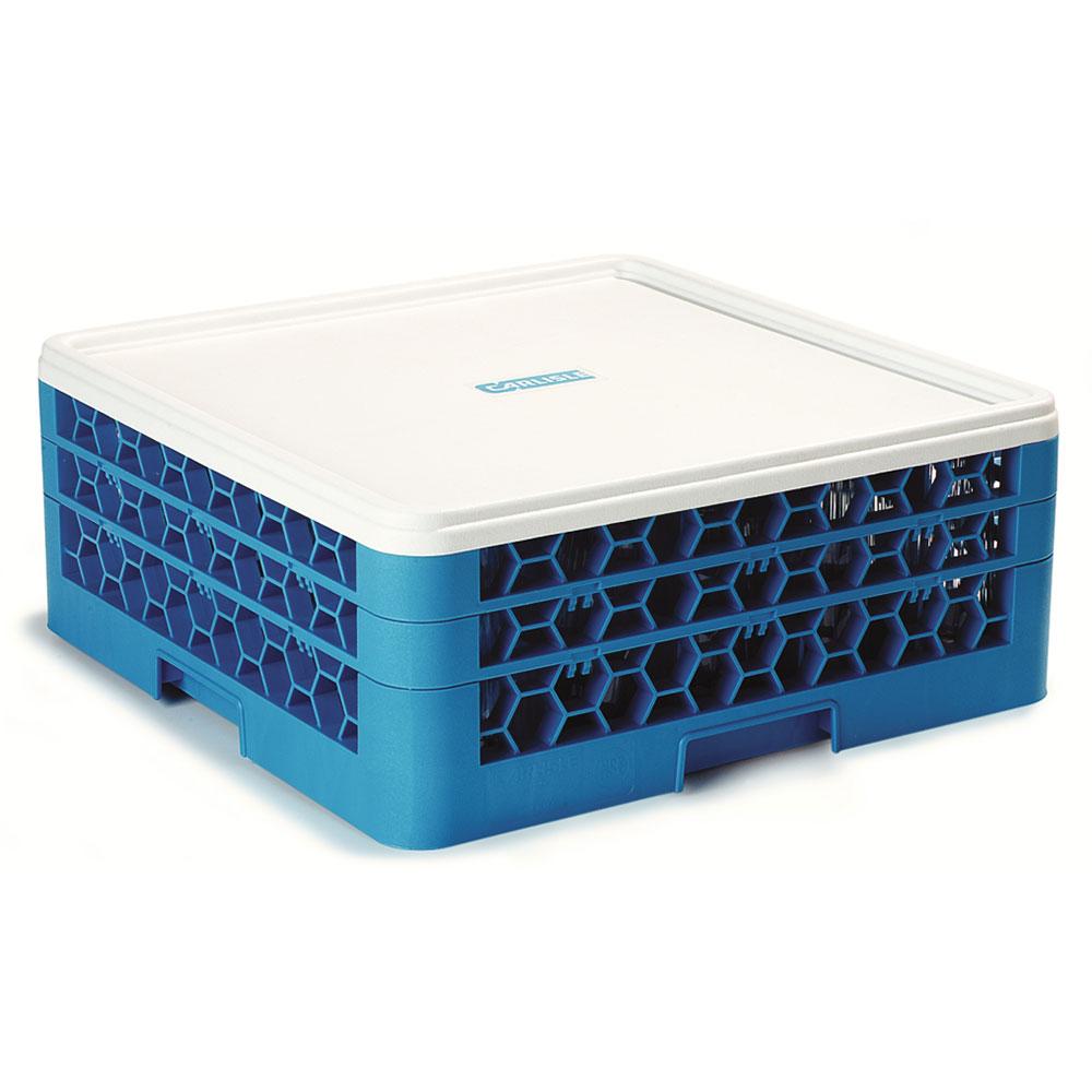 "Carlisle RHC02 20.375"" Square Rack Cover - Plastic, White"