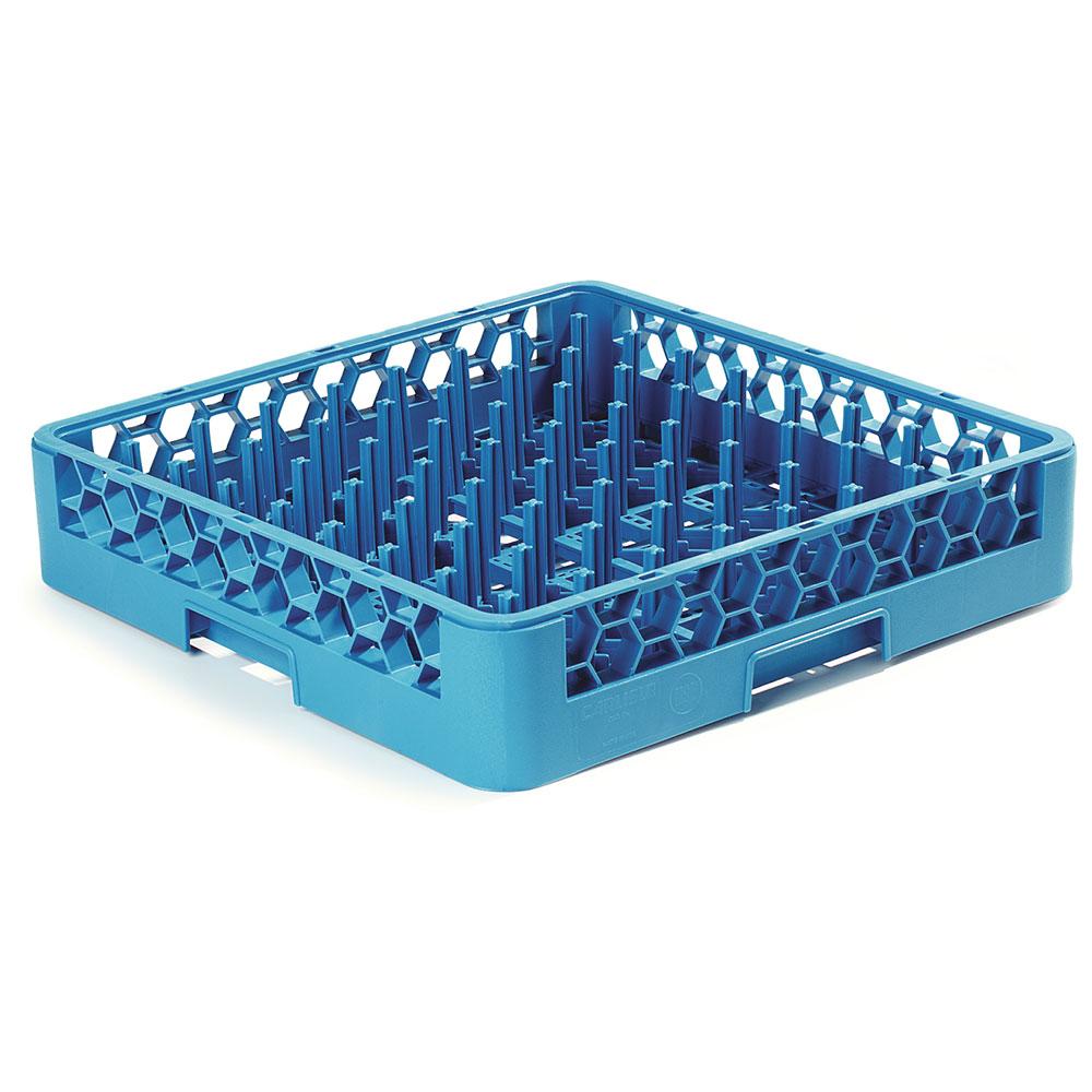 Carlisle RTP14 Full-Size Dishwasher Plate/Tray Peg Rack - Blue