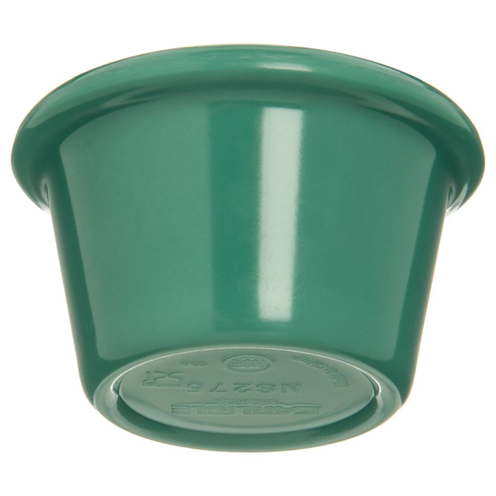 """Carlisle S27509 2.5"""" Round Ramekin w/ 1.5-oz Capacity, Melamine, Meadow Green"""