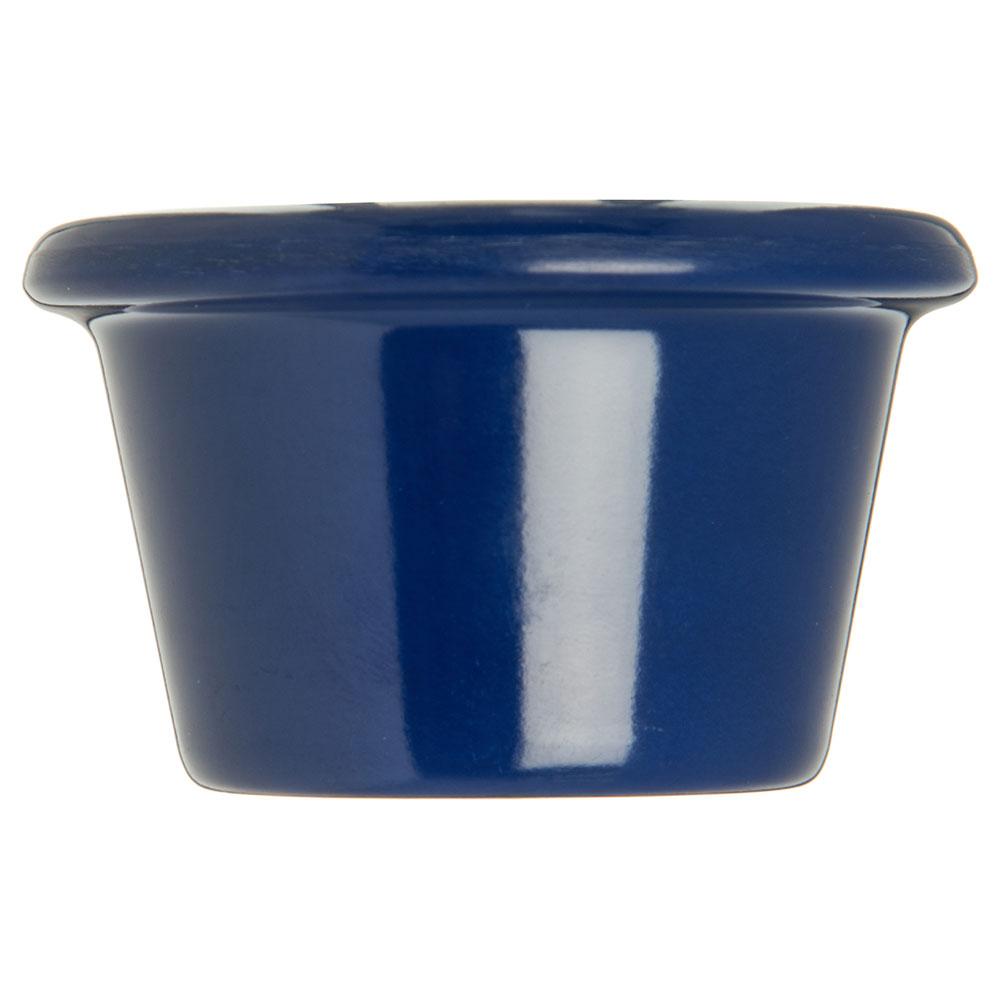 "Carlisle S27560 2.5"" Round Ramekin w/ 1.5-oz Capacity, Melamine, Cobalt Blue"