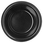 "Carlisle S27903 2.82"" Round Ramekin w/ 2-oz Capacity, Melamine, Black"
