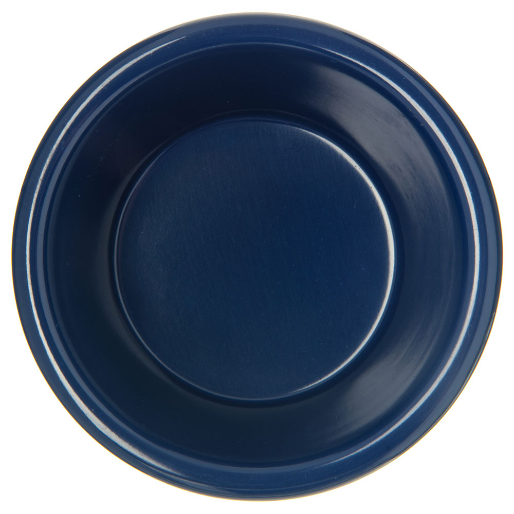 "Carlisle S28060 2.875"" Round Ramekin w/ 3-oz Capacity, Melamine, Cobalt Blue"
