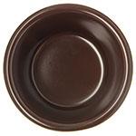 "Carlisle S28069 2.875"" Round Ramekin w/ 3-oz Capacity, Melamine, Chocolate"