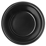 "Carlisle S28003 2.875"" Round Ramekin w/ 3-oz Capacity, Melamine, Black"