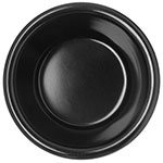 "Carlisle S28203 2.18"" Round Ramekin w/ 3-oz Capacity, Melamine, Black"