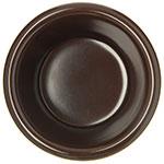 "Carlisle S28269 2.18"" Round Ramekin w/ 3-oz Capacity, Melamine, Chocolate"