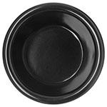 "Carlisle S28503 3.125"" Round Ramekin w/ 4-oz Capacity, Melamine, Black"