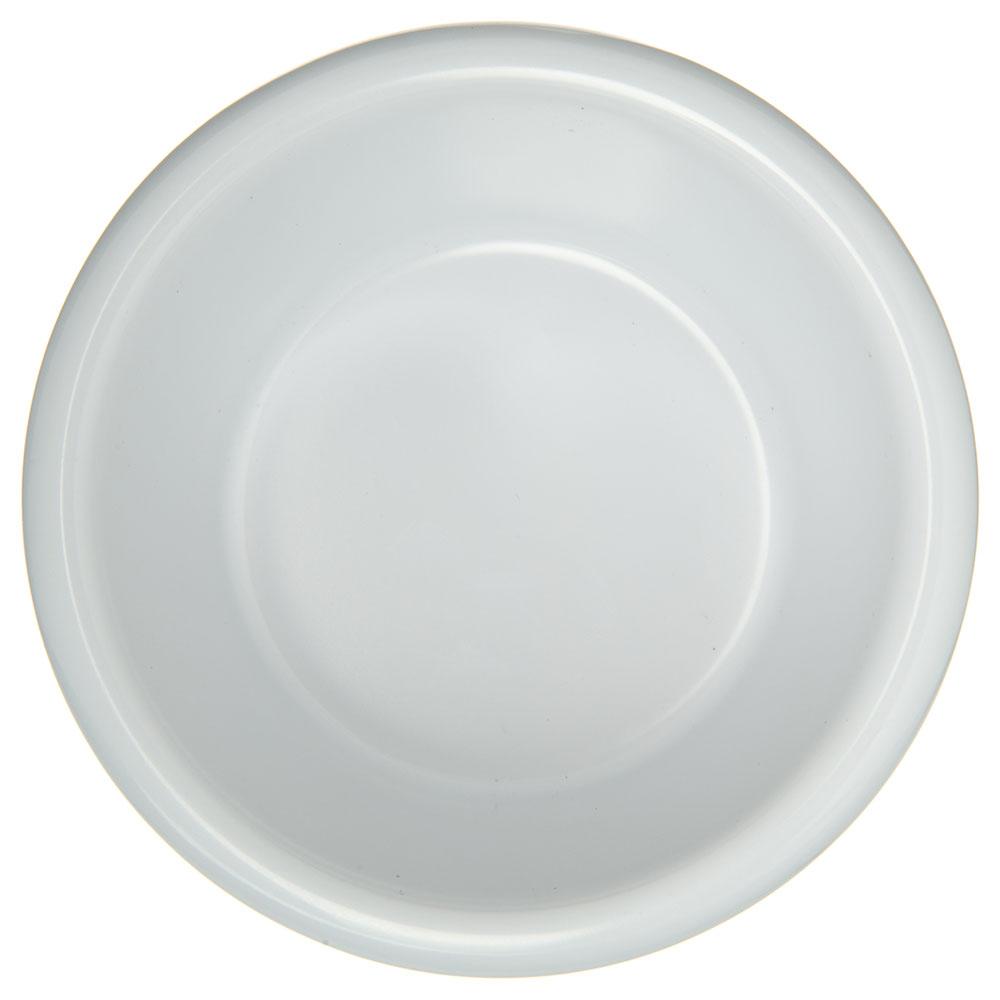 "Carlisle S28602 3.9"" Round Ramekin w/ 6-oz Capacity, Melamine, White"