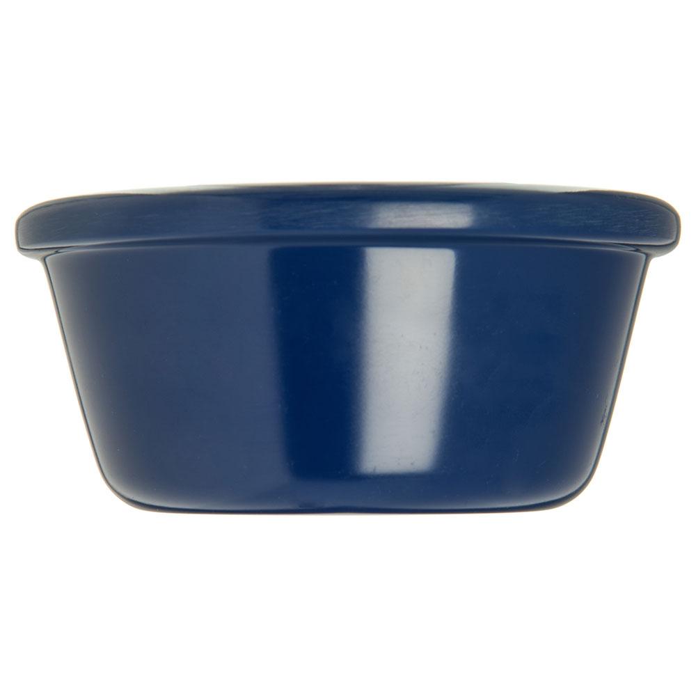 "Carlisle S28660 3.9"" Round Ramekin w/ 6-oz Capacity, Melamine, Cobalt Blue"