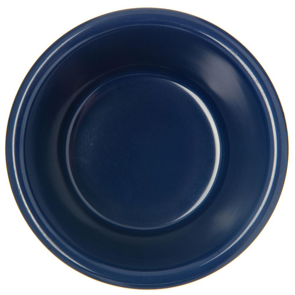 "Carlisle S28760 3.375"" Round Ramekin w/ 4-oz Capacity, Melamine, Cobalt Blue"