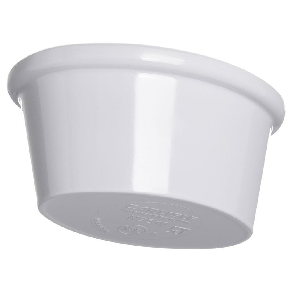 Carlisle S31002 Oval Ramekin w/ 2-oz Capacity, Melamine, White