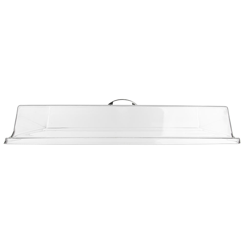 "Carlisle SC2507 Pastry Tray Cover - 24-3/8x16-5/8x4"" Acrylic, Chrome/Clear"
