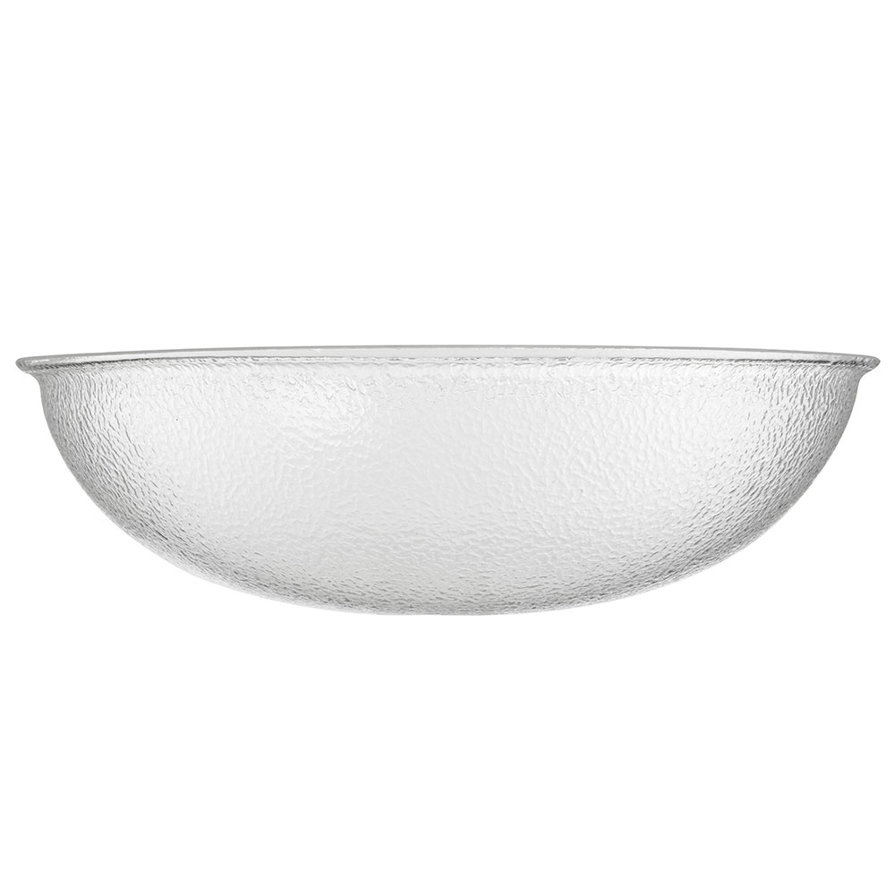 "Carlisle SP2207 22"" Round Punch Bowl w/ 24-qt Capacity, Acrylic, Clear"