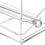 "Carlisle SSD10007 Straw Dispenser - 11"" x 5.56"" x 11.69"", Acrylic, Clear"