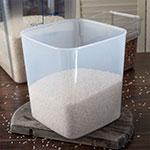 Carlisle ST156830 8-qt Square Food Storage Container - Translucent