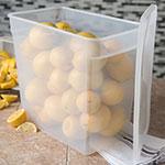 Carlisle ST162930 18-qt Square Food Storage Container - Translucent