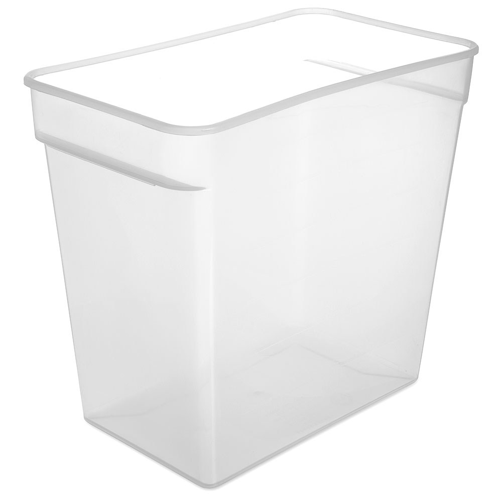 Carlisle ST162930 18-qt Square Food Storage Container - Translucent