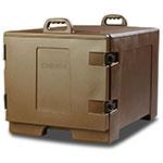 Carlisle TC1826N01 Side Load Sheet Pan/Tray Carrier w/ (7) Tray Capacity, Polyethylene, Brown