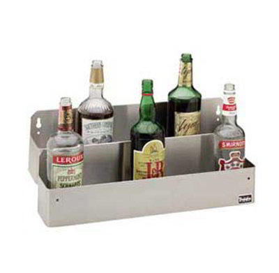 "Carlisle 38342BH Speed Rail - 42x4-1/83x6"" (10)1-ltr Bottle Capacity, Stainless"