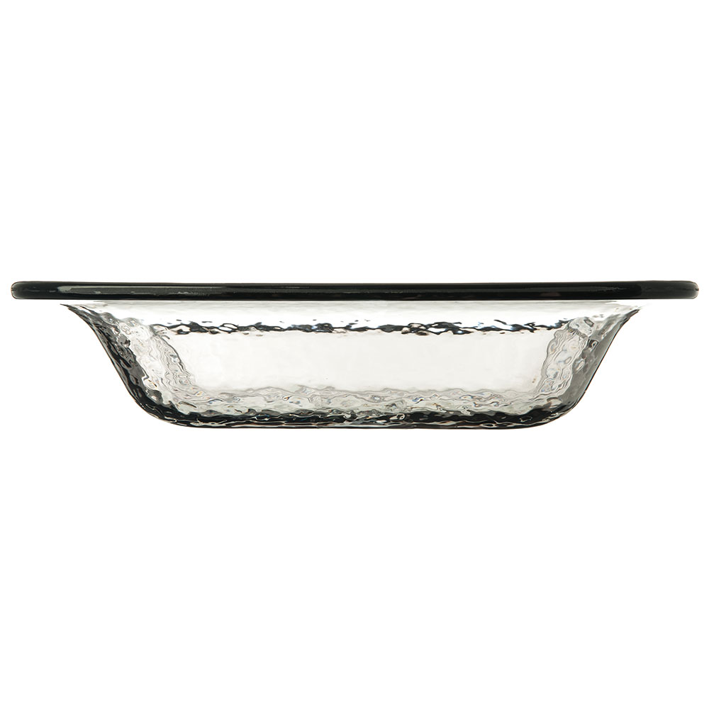 "Carlisle TRA0218 12.375"" Square Serving Bowl w/ 3.4-qt Capacity, Plastic, Smoke"