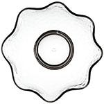 Carlisle TRA0518 28-oz Terra Ruffle Bowl - Tritan, Smoke