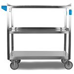"Carlisle UC5032135 Utility Cart - 500-lb Capacity, 35x21x36"" (3)Shelves, Stainless"