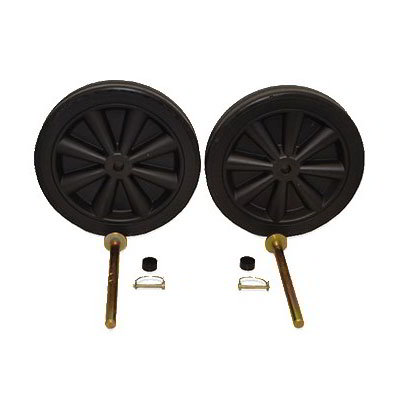 Carlisle WH40000 Wheel Kit for TT0 & TT1 - Black