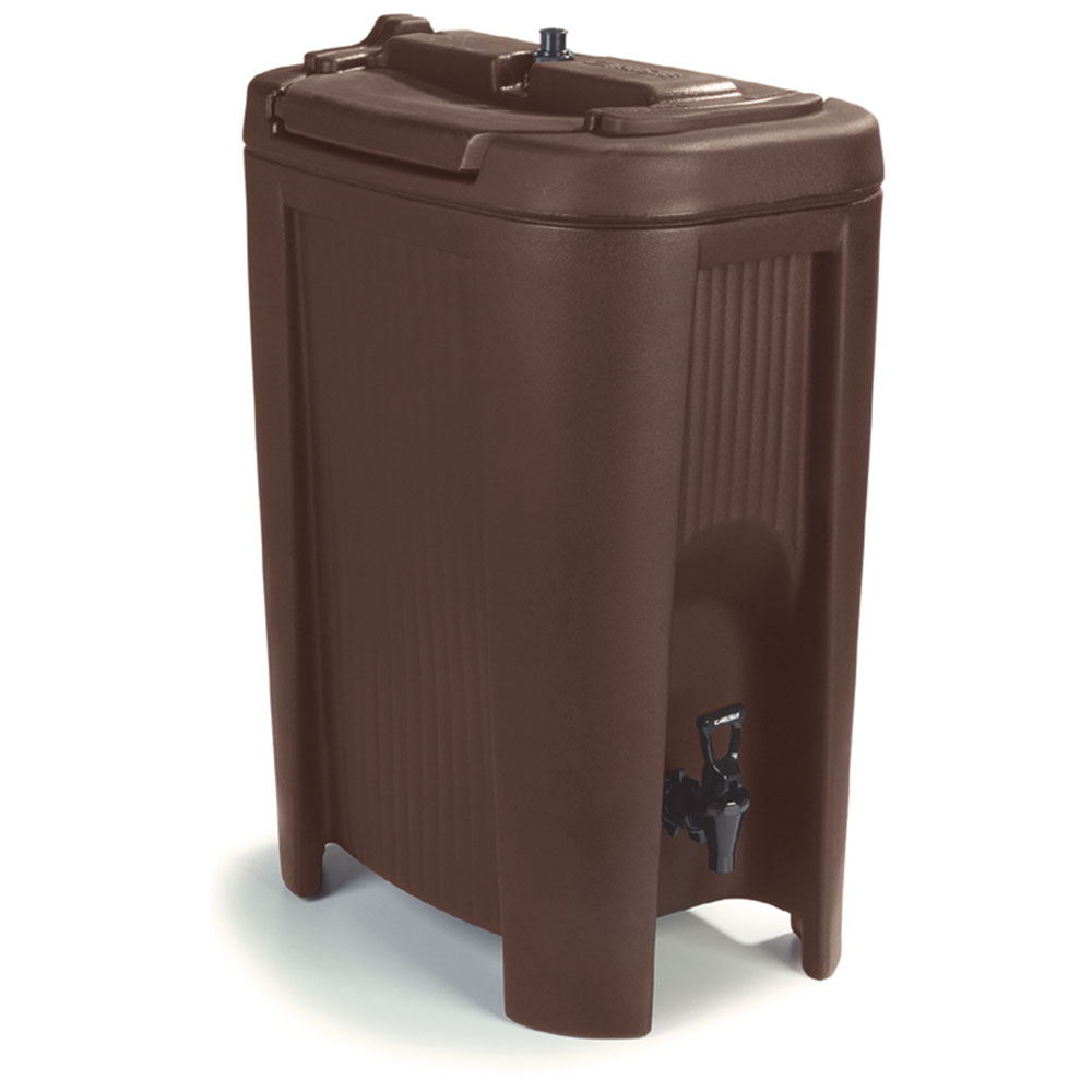 Carlisle XB501 5-gal Beverage Dispenser - Insulated, Polyethylene, Brown