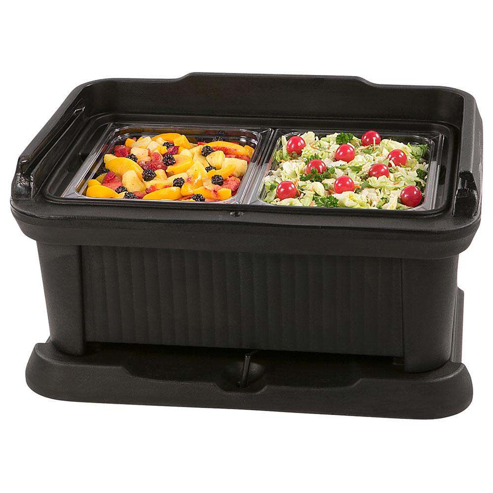 Carlisle XT160003 Top Load Pan Carrier w/ 18-qt Capacity, Polyethylene, Black