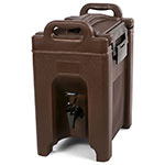 Carlisle XT250001 2.5-gal Beverage Server - Insulated, Polyethylene, Brown