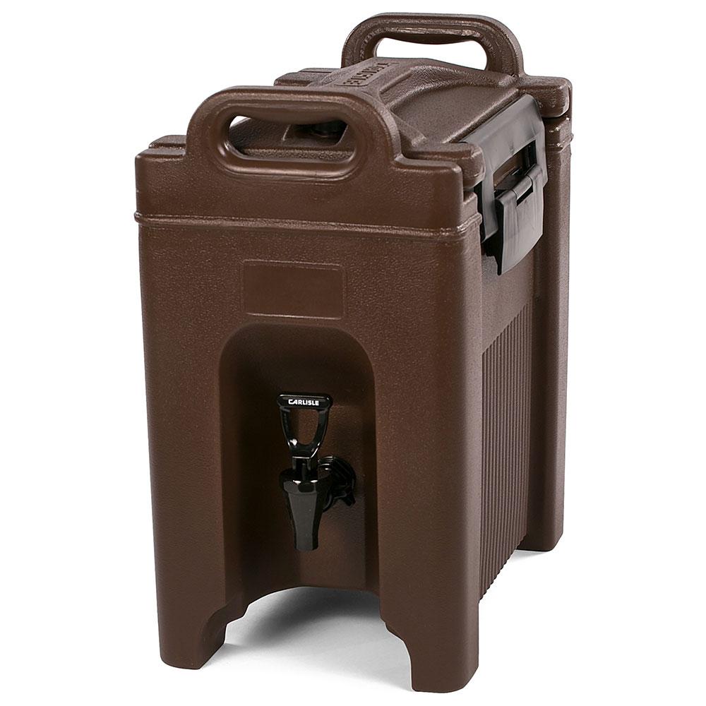 Carlisle XT250001 Cateraid Insulated Equipment, 2.5 Gallon Beverage Dispenser, Brown