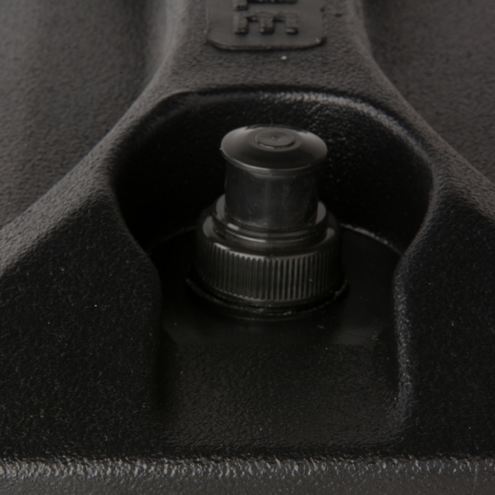 Carlisle XT255003 Cateraide Lid Assembly - (XT2500/5000) Black